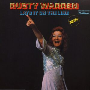 Rusty Warren Lays It On The Line, GNP Crescendo 2081 cabaret and comedy album